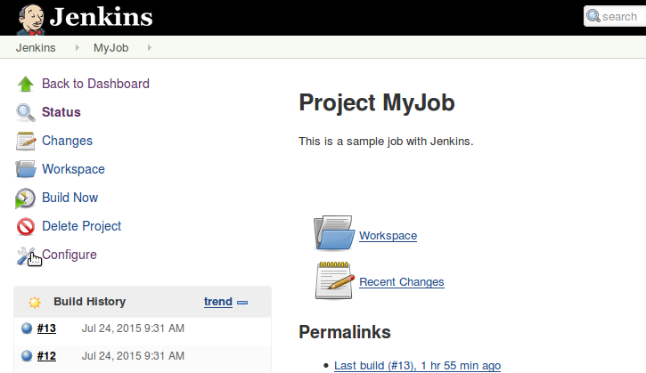 Jenkins project