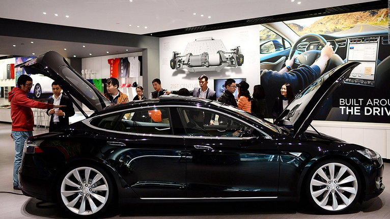 Tesla Enters Chinese Market