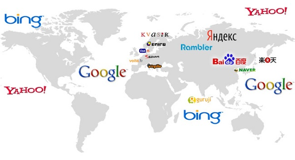 Most Popular Global Search Engines