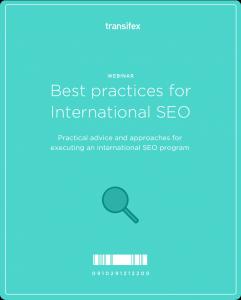 Best Practices For International SEO Webinar