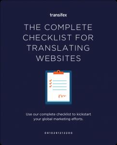 The Complete Checklist for Translating Websites