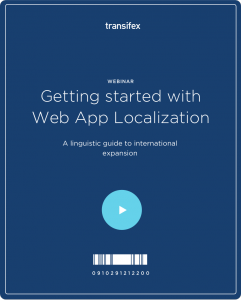 Getting Started With Web App Localization Webinar