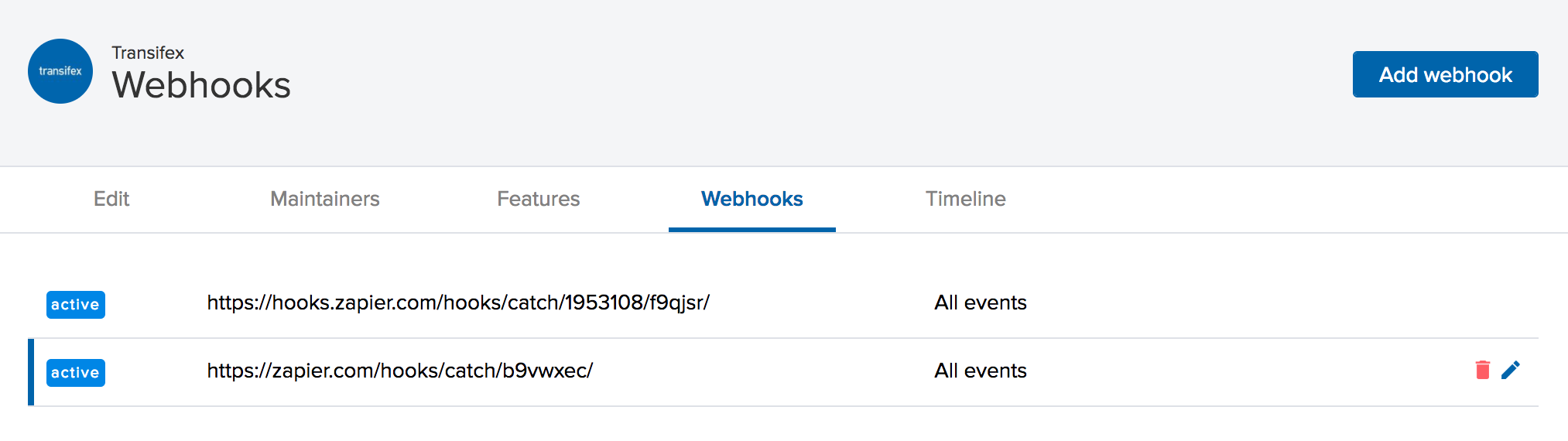 webhook overview
