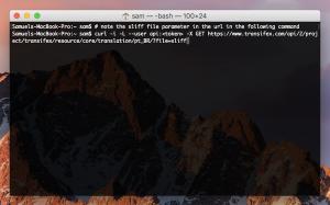 XLIFF API