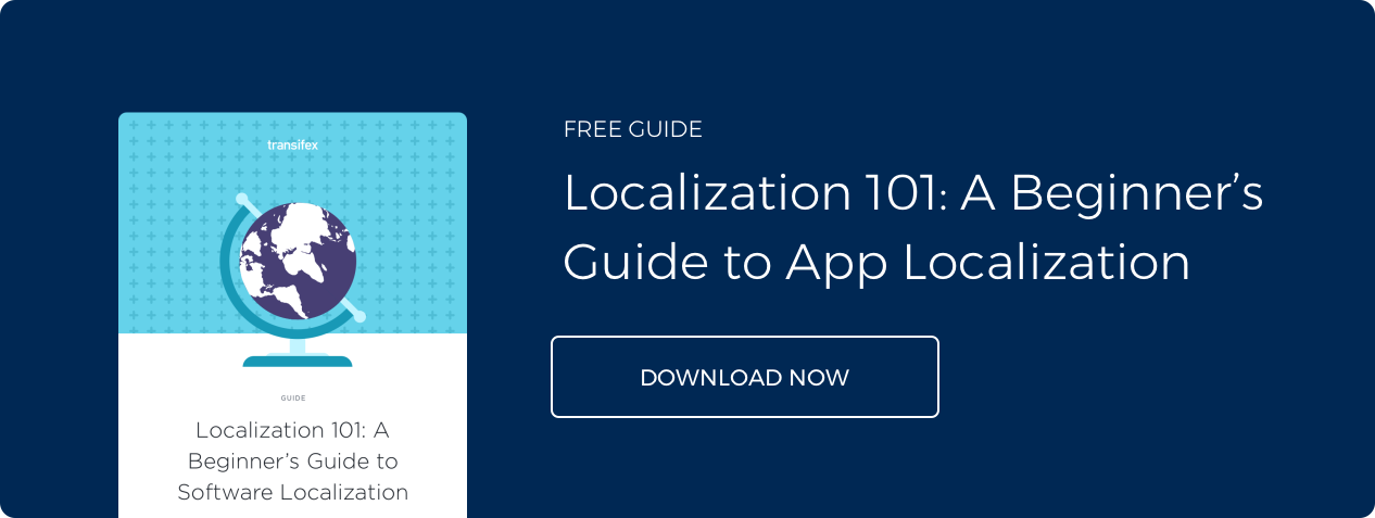 Localization Guide for Mobile Apps