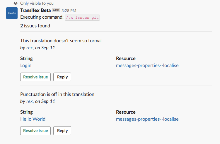 Transifex Slack Integration Enables Collaboration