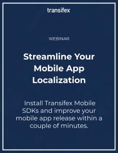 Mobile app localization webinar