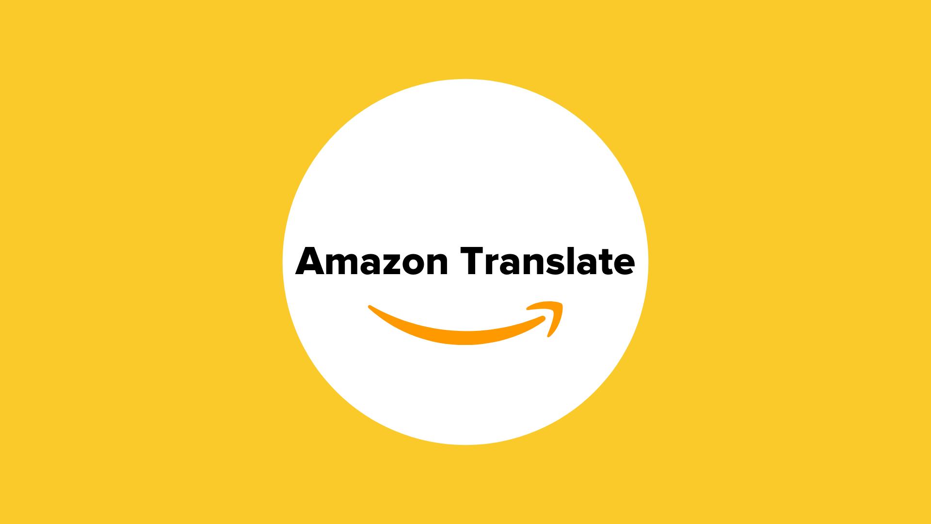 Amazon Translate_machine_translation_transifex