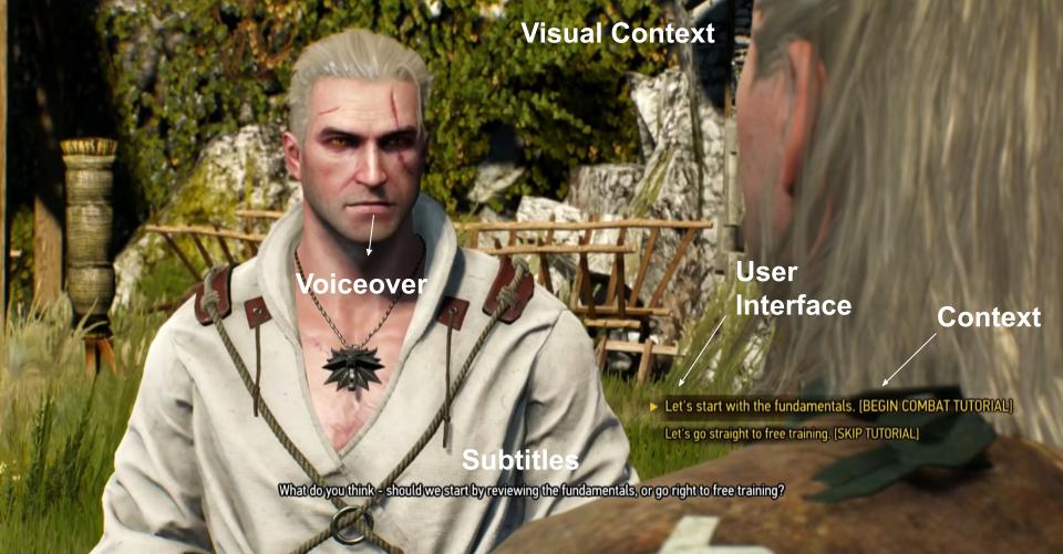 Game localization witcher 3