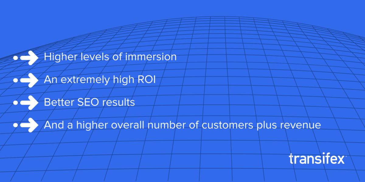 Game localization benefits
